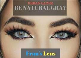 Pupilentes urban layer color Benatural gray
