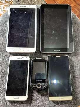 Vendo celular y tablet con detalles. Leer especificaciones