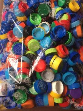 kilo de Tapas plasticas