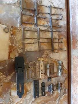 Pasadores Puerta Y Tirador Manija, accesorios cerradura