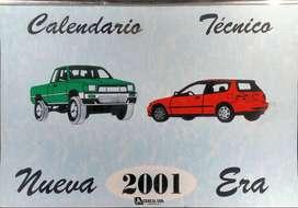 CALENDARIO TÉCNICO Nueva Era 2001