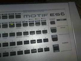 piano yamaha motif psr ES6