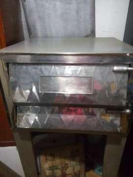 Se vende horno pizzero pequeño de una gaveta en buen estado