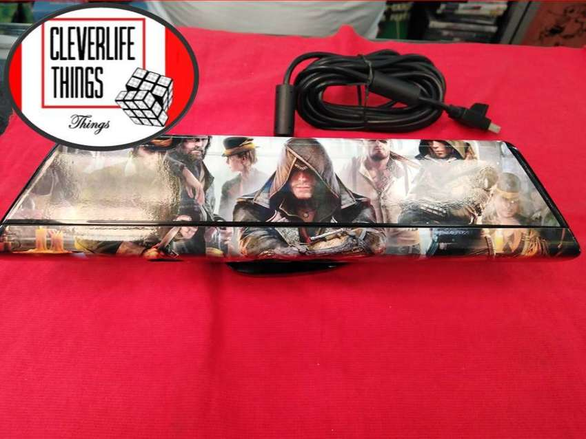 KINECT PARA XBOX 360 ORIGINAL ESTILO ASSASSINS CREED SYNDICATE SKIN GARANTIA DOMICILIO CABLEADA 0