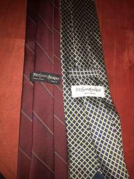 Corbatas marca yvessaintlaurent originales