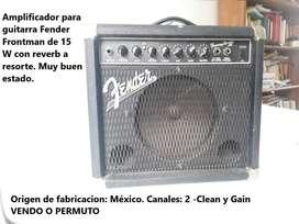 Amplificador para guitarra Fender 15w
