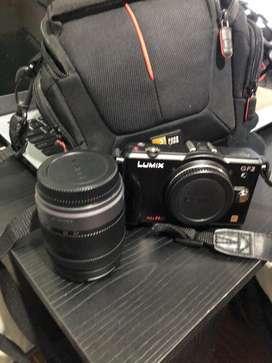 A la venta camara fotografica lumix panasonic GF2