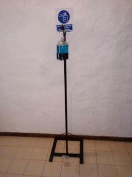Maquina dosificadora de alcohol