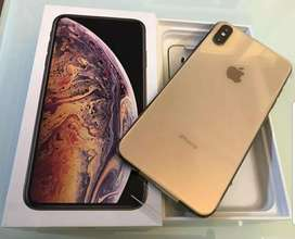 Iphone xs max gold de 256 gb