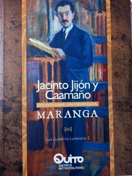 Libro Maranga. Jacinto Jijon y Caamaño, estudios sobre Lima prehispánica