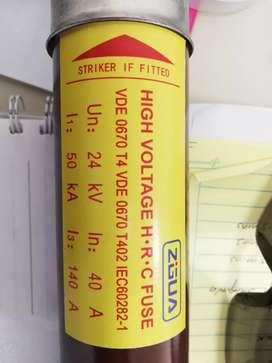 Fusibles para celda de medición  en subestacion
