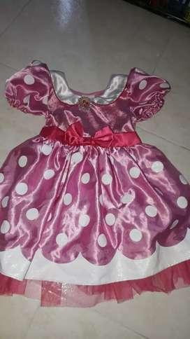Vestido niña disney t4