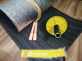 Kits de colchoneta Rueda abdominal lazo y banda elástica