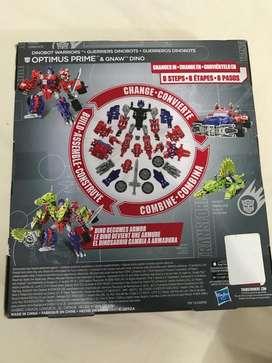 Optimus Prime guerreros dinobots new HASBRO