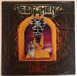Testament The Legacy Lp Atlantic Megaforce Worldwide 1987