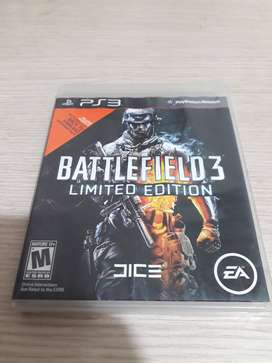 VENDO JUEGO de PS3 BATTLEFIELD 3 LIMITED EDITION $15