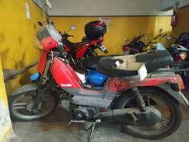 Moto Zanella Sol Business 2006 - Arranque electrico - Motor 4 T Como relojito