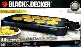 Parrilla Eléctrica Black & Decker 8 Porciones