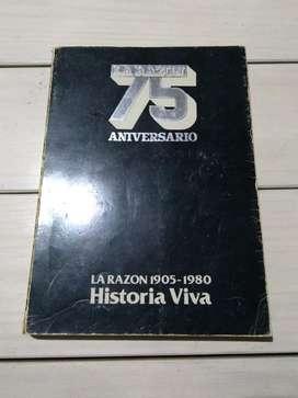 Libro La Razón 75 Aniversario Historia Viva 1905-1980 Fotos