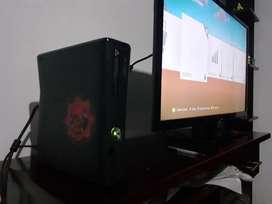 Xbox 360 Slim 4 Juegos 1 Control.
