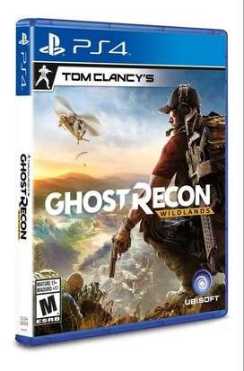 Ghost Recon Wildlands PS4 Físico Blu-ray Original Nuevo Sellado