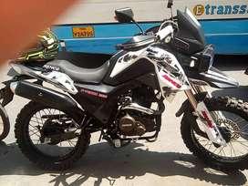 Moto con motor 250 / ronco Con soat hasta noviembre del 2020 Kilometra