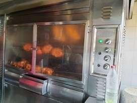 Venta de asadero de pollo