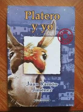 """LIBRO DE LECTURA """"PLATERO Y YO"""""""