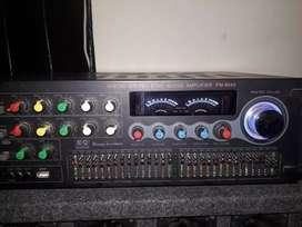 Amplificador de sonido y Columnas