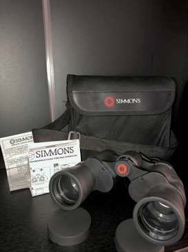 Venta de binoculares marca SIMMONS (nunca usados) + estuche protector y ajustable