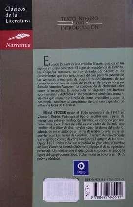 Drácula, BRAM STOKER, Edimat Libros
