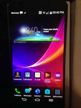 celular lg flex pantalla curva 32GB exclusivo