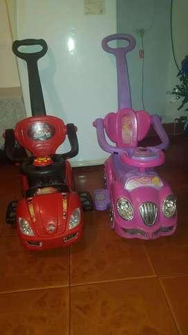 Vendo autos para niños