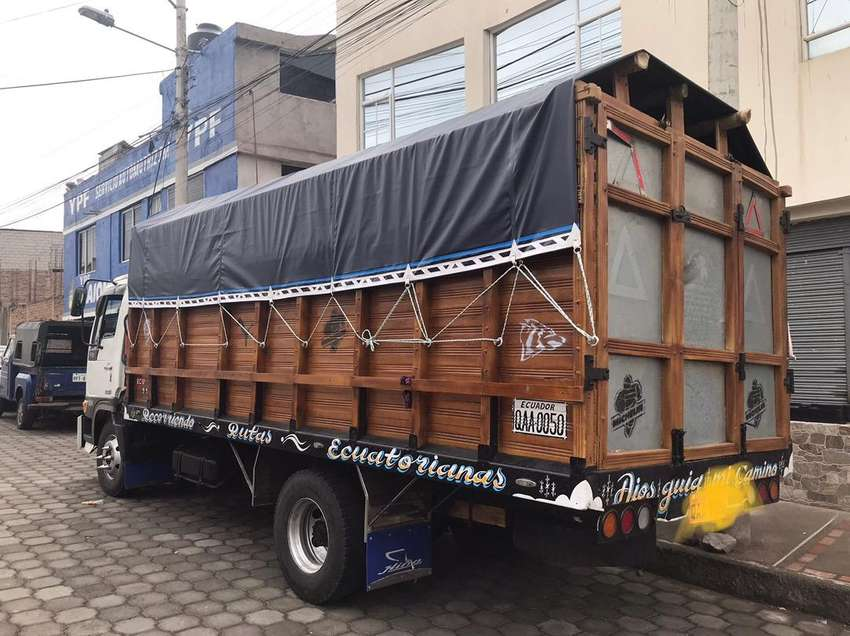 Alquiler de Camion para mudanzas y Carga RIOBAMBA