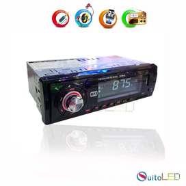Radio Mp3 Usb, Micro Sd, Aux, Bluetooth para carros Quitoled