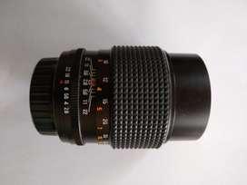 vendo lente aubell F-135 mm 1-2,8