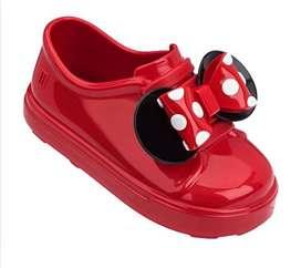 Zapatos para Niña Minnie Melissa Rojos