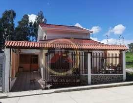 Hermosa casa con minidepartamento, Sector entrada a Misicata