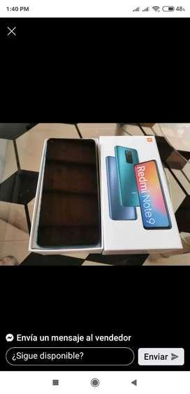 Celular Xiaomi redmi note 9 128memoria