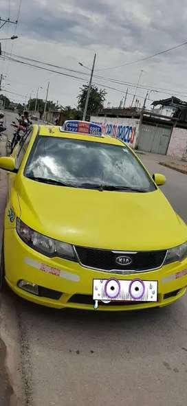 Venta de taxi con linea