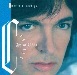 Amor Sin Vértigo, CAMILO SESTO, Original CD