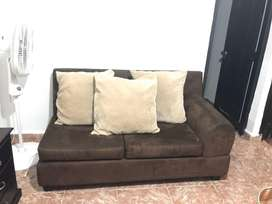 Mueble doble con mesa de centro