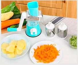 Rayador y cortador de verduras 3 en uno