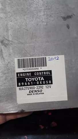 ECU hilux 2.5 motor 2kd  2010 y 2012 funcionando perfecto