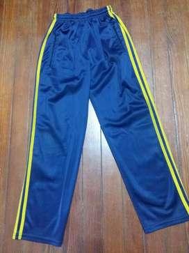 Pantalon Deportivo Niño Acetato Talle 14