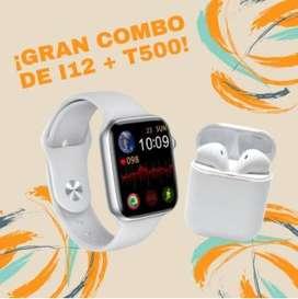 COMBO T500+ AUDIFONOS I12