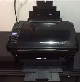 Impresora Multifuncion Epson Tx420w Wifi, Usb, Tarjeta Sd