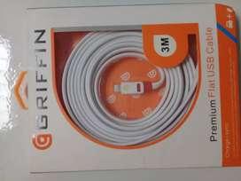 Cable USB 3 MTS para iphone. Sincronización de carga