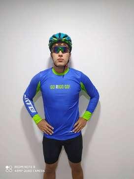 Jersey unisex para ciclismo GO RIGO GO!