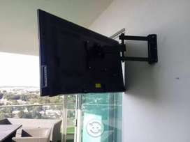 Servicio venta e instalación soportes para tv